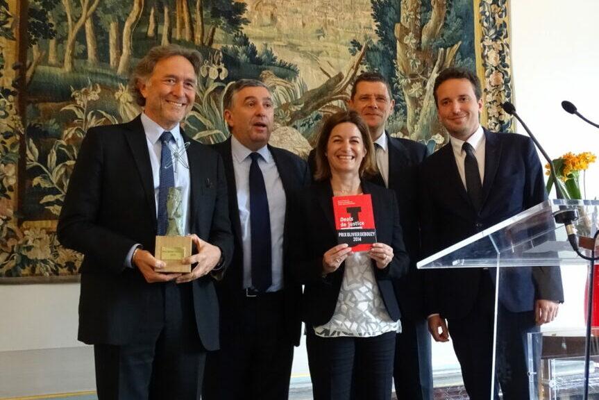 Remise Du 4ème Prix Olivier Debouzy