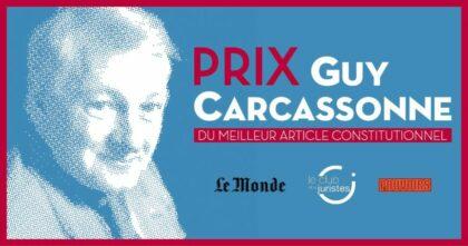Remise Du Prix Guy Carcassonne - 5ème édition