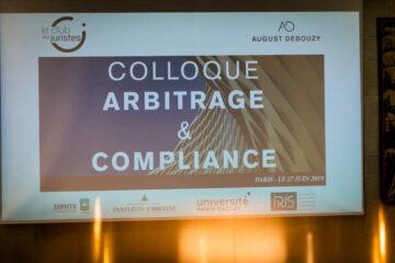 Colloque Arbitrage Et Compliance