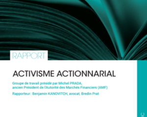 Rapport Activisme Actionnarial